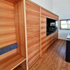 Küche aus Holz